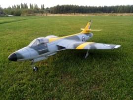 Hawker Hunter edf 90mm