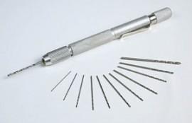 Mini Hand Drill w/ 12 Drill Bits